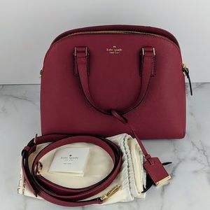Kate Spade Cameron Street Lottie Leather Satchel